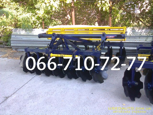 Продажа Дисковая борона АГД 2.1, АГД 2.5 на ЮМЗ, МТЗ , Сельскохозяйственный трактор, фото #1