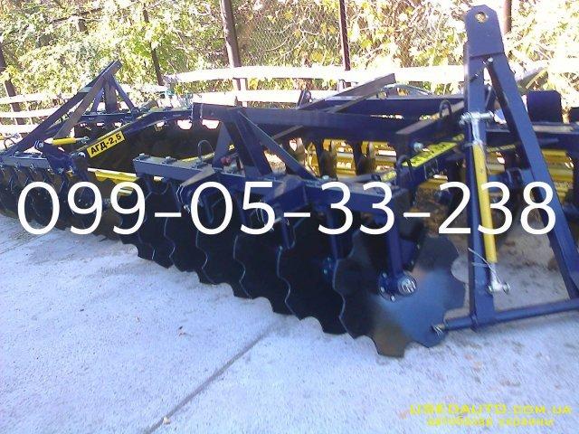Продажа       Борона АГД-2.5Н АГД-2.8Н АГД-3.5Н , Сельскохозяйственный трактор, фото #1