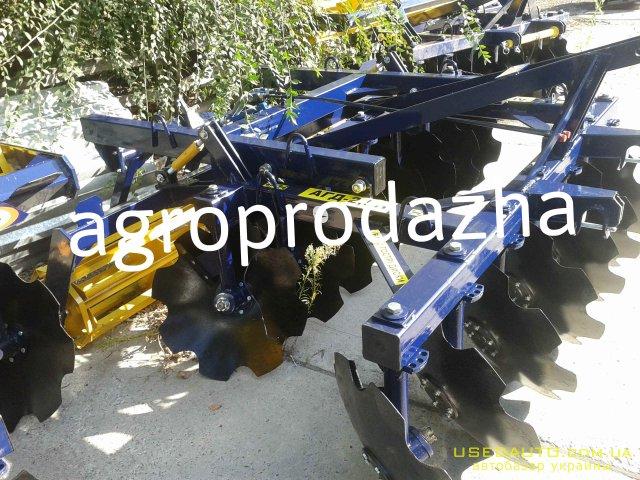 Продажа  БОРОНА ДИСКИ АГД-2.5Н ПРИЦЕПНА  , Сельскохозяйственный трактор, фото #1