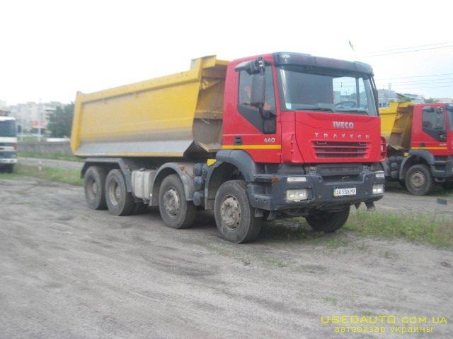 Продажа IVECO Trakker  (8x4) , Самосвальный грузовик, фото #1
