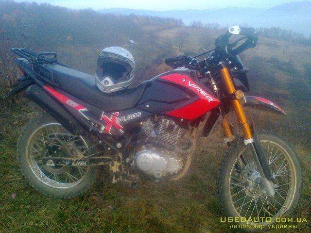 Продажа VIPER MX200R , Кроссовй мотоцикл, фото #1