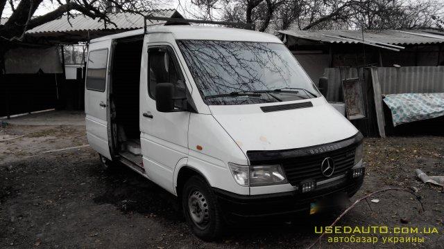 Продажа MERCEDES-BENZ Sprinter 208D , Грузовой микроавтобус, фото #1