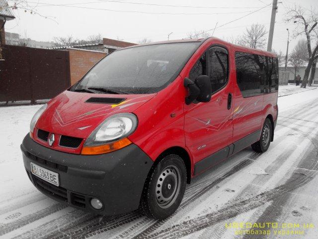 Продажа RENAULT trafik (РЕНО), Пассажирский микроавтобус, фото #1
