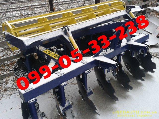 Продажа  БОРОНА АГД-2.1-2.5-2 заводская   , Сельскохозяйственный трактор, фото #1