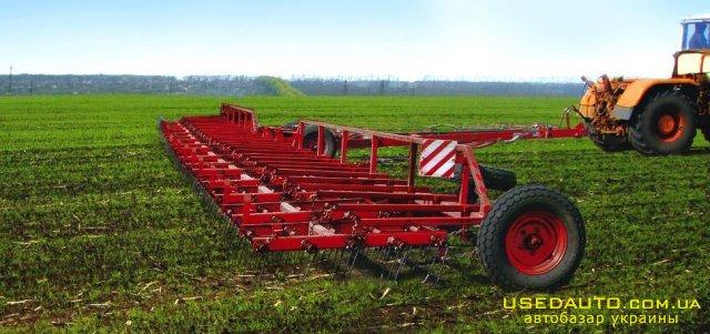 Продажа Борона пружинная ЛИРА-24 ЗПГ-24  , Сеялка сельскохозяйственная, фото #1