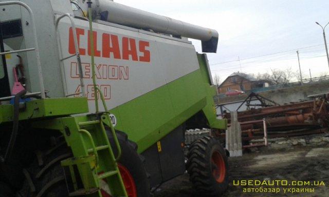 Продажа CLAAS Lexion 480 , , фото #1