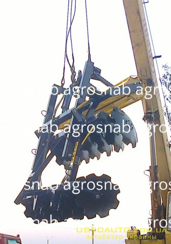 Продажа Дисковая АГД-2.5Н прицепная , Лесхозтехника, фото #1