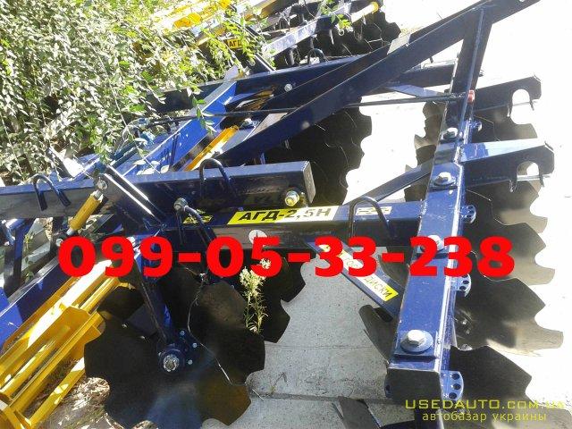 Продажа НОВАЯ ПРИЦЕПНАЯ АГД-2,1Н  , Сеялка сельскохозяйственная, фото #1
