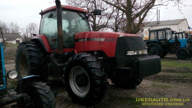 Продажа CASE MX 270 , Сельскохозяйственный трактор, фото #1