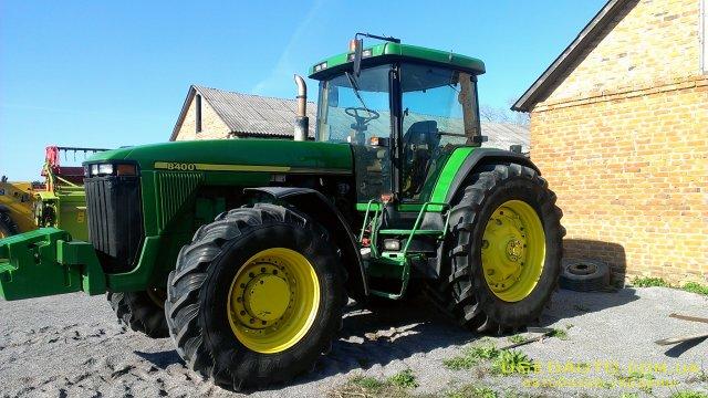 Продажа JOHN DEERE 8400 , Сельскохозяйственный трактор, фото #1