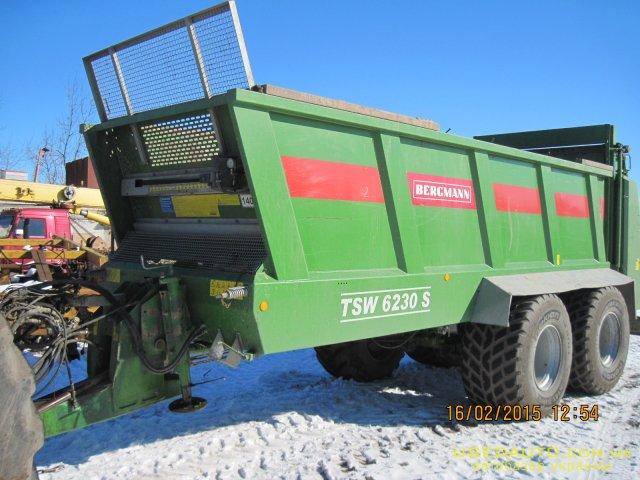 Продажа BERGMANN TSW 6230S , Распылитель сельскохозяйственный, фото #1