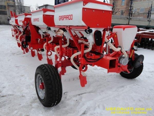 Продажа GASPARDO SP-8   Сеялка пропашная  , Сельскохозяйственный трактор, фото #1