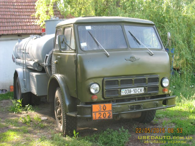 Продажа МАЗ АЦ МАЗ 500А , Грузовик - бензовоз, фото #1
