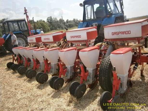 Продажа Сеялка GASPARDO SP 8 -Сеялка  , Сельскохозяйственный трактор, фото #1
