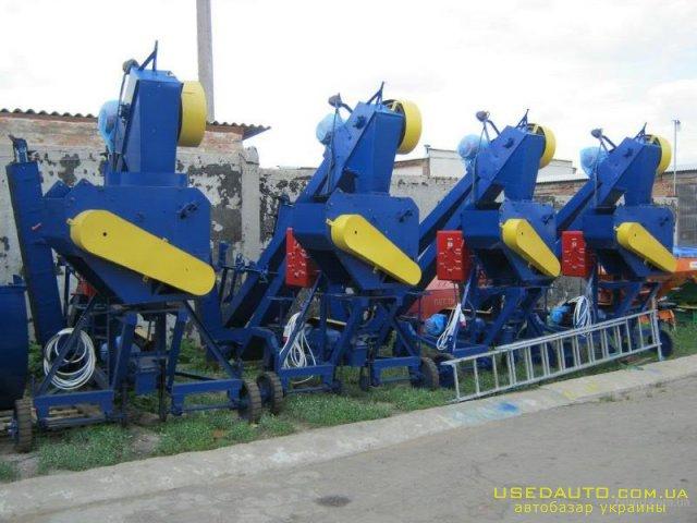 Продажа ЗЕРНОМЕТАТЕЛЬ (70 -т/ч) ЗМ-60  , Сельскохозяйственный трактор, фото #1