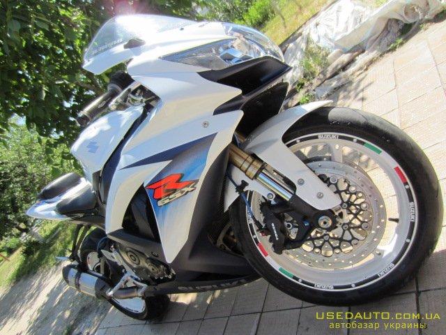 Продажа SUZUKI GSX 600 R , Спортбайк, фото #1
