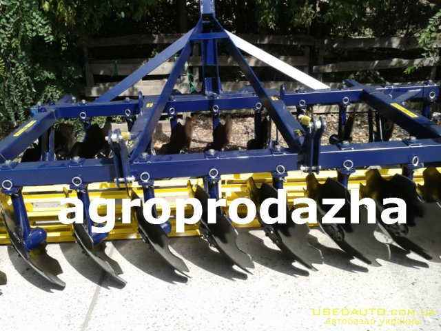 Продажа ДИСКОВАЯ БОРОНА АГД 35  , Сельскохозяйственный трактор, фото #1