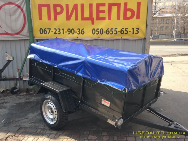 Продажа КНОТТ-31 усилен БТ450 , Бортовой прицеп, фото #1