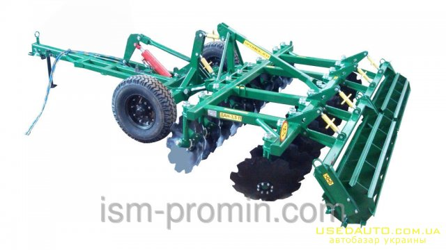 Продажа Дисковая борона ДАН-3,5 прицепна  , Сельскохозяйственный трактор, фото #1