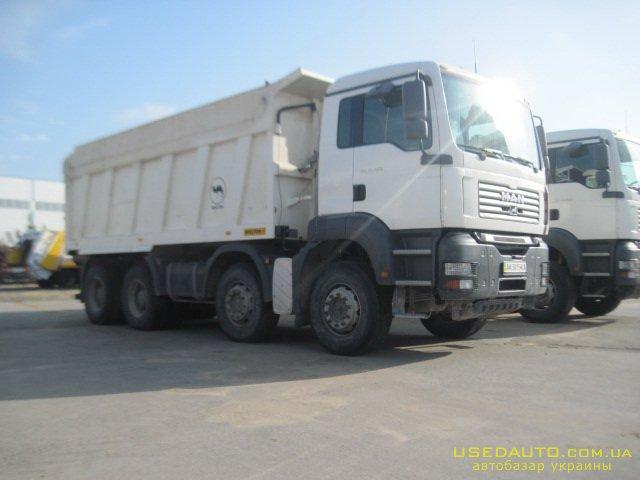 Продажа MAN TGA  41.480 , Самосвальный грузовик, фото #1