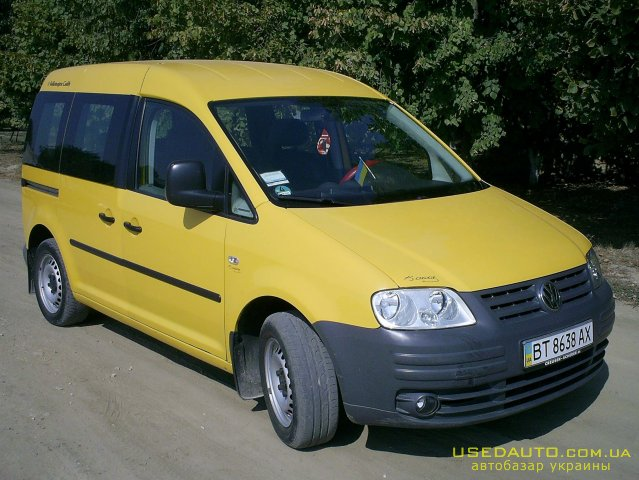 Продажа VOLKSWAGEN Caddy (ФОЛЬКСВАГЕН), Пикап, фото #1