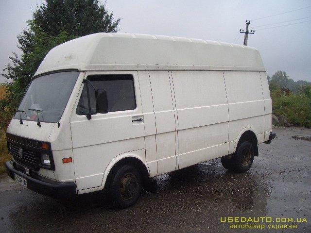 Продажа VOLKSWAGEN LT-45 (ФОЛЬКСВАГЕН), Грузовой микроавтобус, фото #1