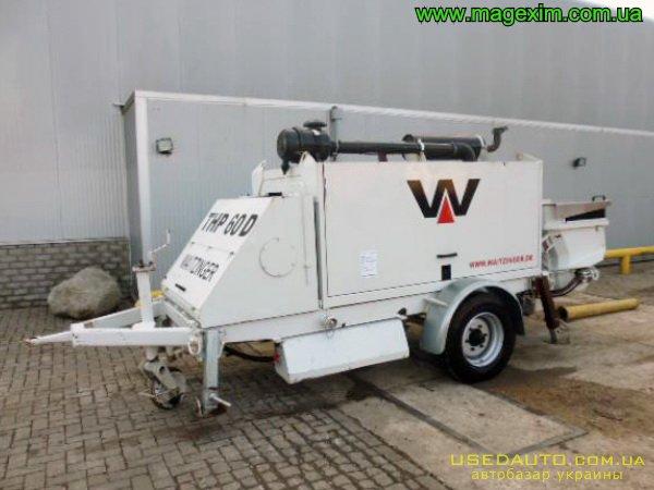 Продажа WAITZINGER THP 60 D , Бетононасос, фото #1