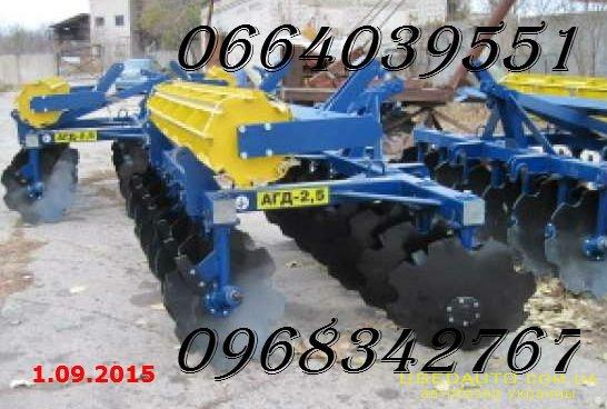 Продажа Борона дисковая АГД-2.5Н прицепн  , Сельскохозяйственный трактор, фото #1