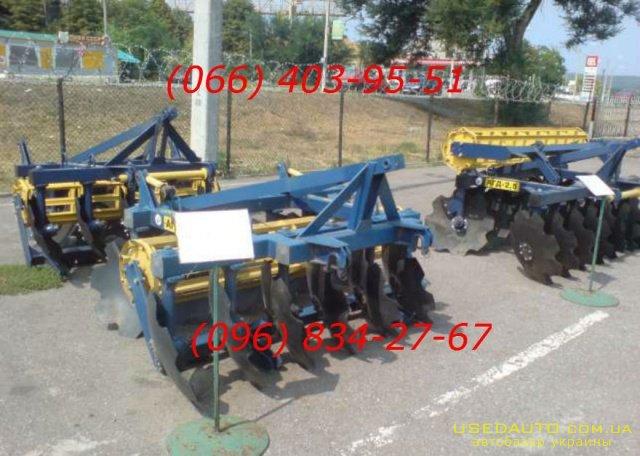 Продажа бороны дисковые агд навесные при  , Сельскохозяйственный трактор, фото #1