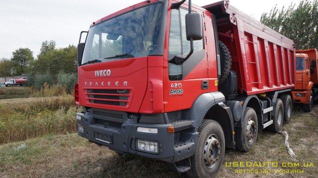 Продажа IVECO Trakker , Самосвальный грузовик, фото #1