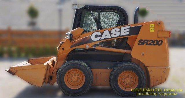Продажа CASE SR 200 , Погрузчик, фото #1