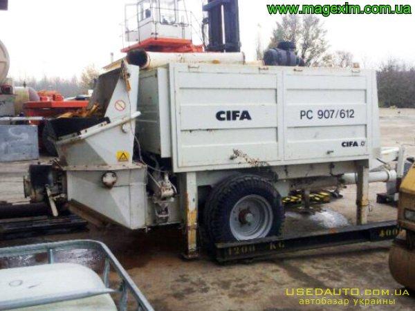 Продажа CIFA PC 907(612) , Бетононасос, фото #1