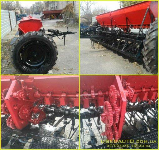 Продажа Сеялки сз 3.6(капремонт)б.у. Сея  , Сельскохозяйственный трактор, фото #1