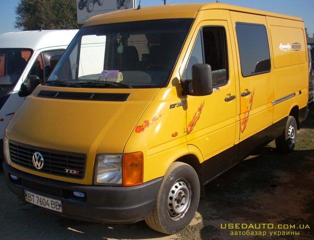 Продажа VOLKSWAGEN ЛТ-35 (ФОЛЬКСВАГЕН), Грузопассажирский микроавтобус, фото #1