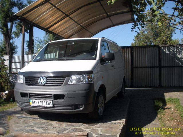 Продажа VOLKSWAGEN Transporter T5 (ФОЛЬКСВАГЕН), Грузовой микроавтобус, фото #1