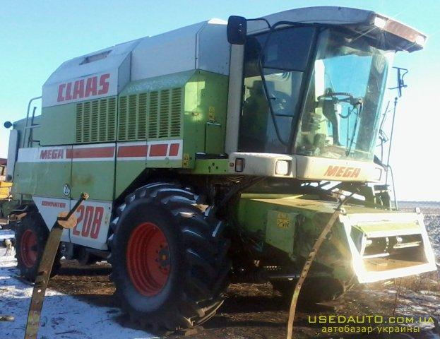 Продажа CLAAS MEGA 208 , , фото #1