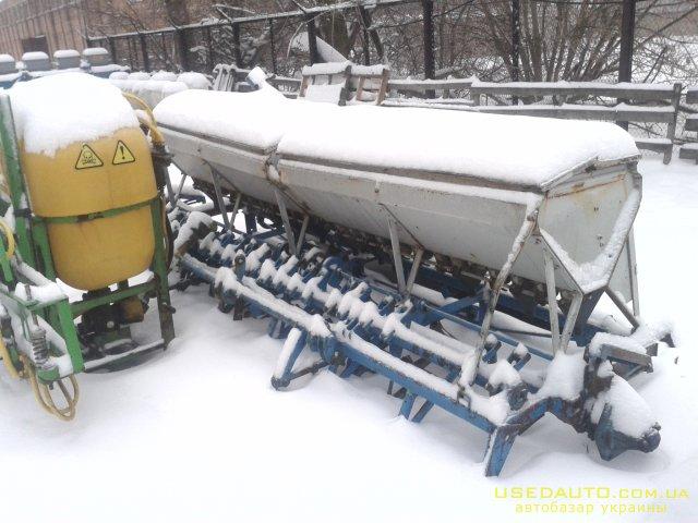 Продажа сеялка СЗ-3.6 б.у   , Сельскохозяйственный трактор, фото #1