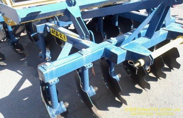 Продажа  АГД 2,1 , дискатор, АГД  , Сельскохозяйственный трактор, фото #1