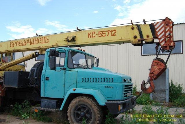 Продажа Краз 65053 КТА -25 , Автокран, фото #1