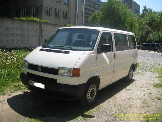Продажа VOLKSWAGEN минивен (ФОЛЬКСВАГЕН), Пассажирский микроавтобус, фото #1
