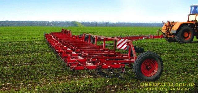 Продажа Борона пружинная ЗПГ 15 ЛИРА 15  , Сельскохозяйственный трактор, фото #1