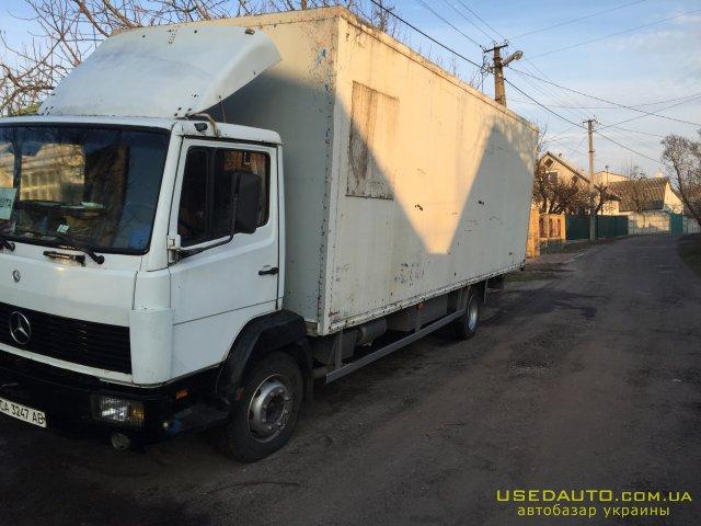 Продажа MERCEDES 814 грузовой , Мебельный грузовик, фото #1