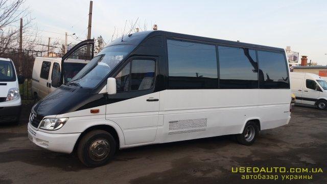 Продажа MERCEDES-BENZ SPRINTER 412TDI , Туристический автобус, фото #1