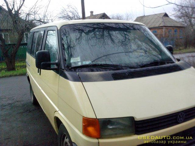 Продажа VOLKSWAGEN T4 (ФОЛЬКСВАГЕН), Пассажирский микроавтобус, фото #1