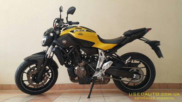 Продажа YAMAHA mt 07 , Дорожный мотоцикл, фото #1