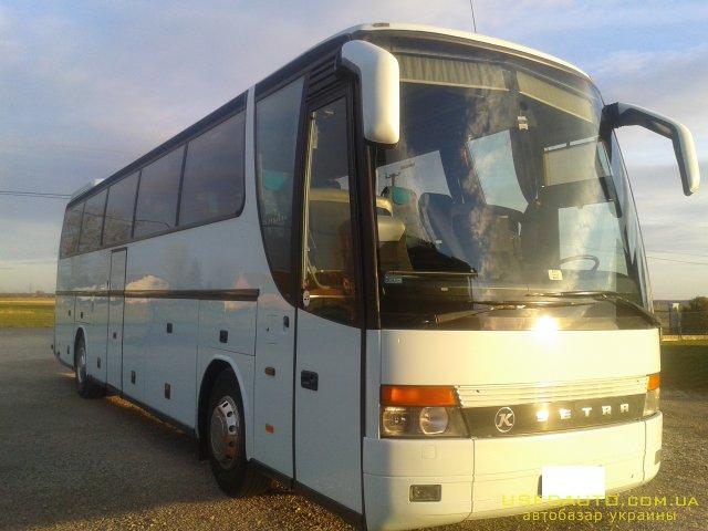 Продажа SETRA S 315 HDH , Туристический автобус, фото #1