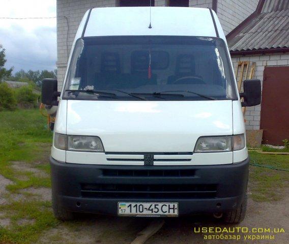 Продажа PEUGEOT BOXER , Грузовой микроавтобус, фото #1