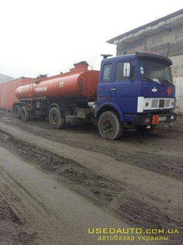 Продажа МАЗ Полуприцеп , Грузовик - бензовоз, фото #1