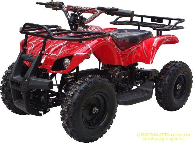 Продажа E-ATW 800W Электро 800 , Квадроцикл, фото #1