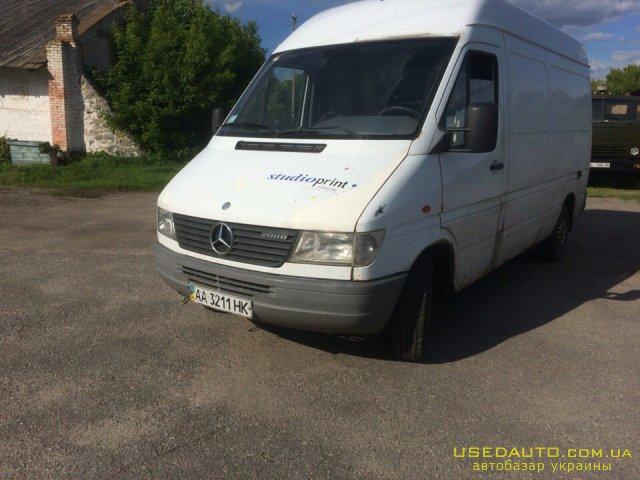 Продажа MERCEDES-BENZ sprinter 208 D , Грузовой микроавтобус, фото #1